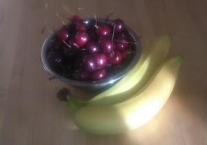 черешня с бананами