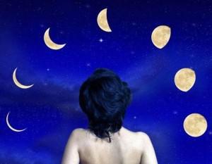 дама и луна х