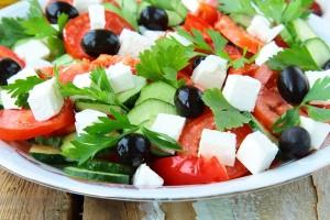салат греческий х