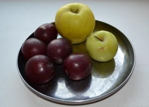 сливы и яблоки 2