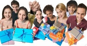 люди с подарками х