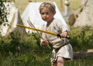 пацан с мечом х