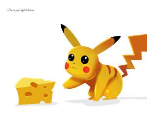 покемон и сыр