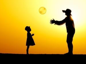 солнце мяч
