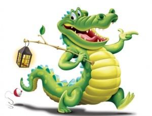 крокодил х
