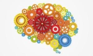 мозг из цветных шестеренок х