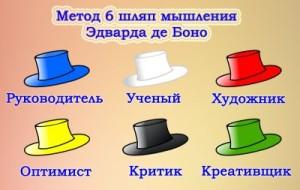 шесть шляп х