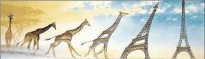 жираф х