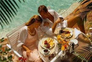 мужчина и женщина на отдыхе