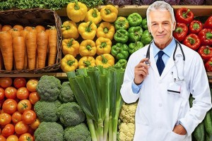 врач и фрукты х