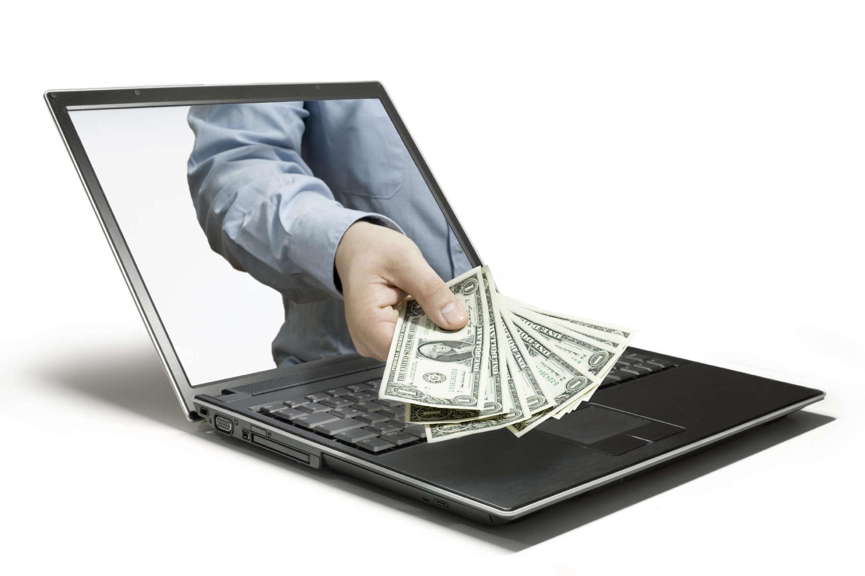 Деньги Интернет утром своей