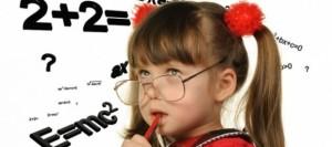 девочка в очках