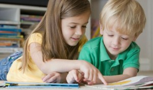 дошкольники и книга