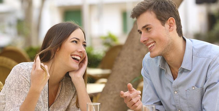 Поведение мужчины при знакомстве